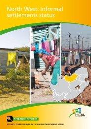 North West - Housing Development Agency