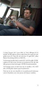 Kör- och vilotider - Trafiksaker.se - Page 5