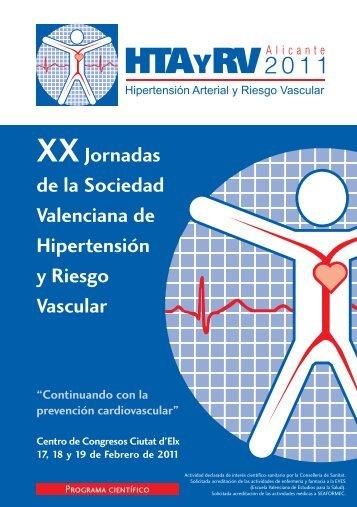 XXJornadas de la Sociedad Valenciana de ... - SEH-Lelha