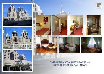 5 Star Radisson Hotel and Shopping Center Arman