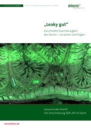 """Leaky gut"" – die Diagnostik bei - Biovis"