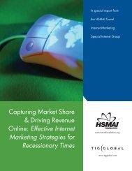 Effective Internet Marketing Strategies for ... - TourismTechnology.com