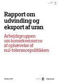 Rapport om udvinding og eksport af uran - Naalakkersuisut.gl - Page 3
