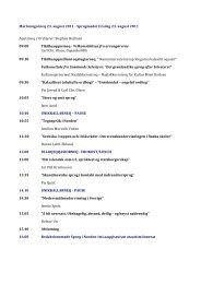 Marlunngorneq 23. august 2011 -‐ Sprogmødet tirsdag ... - Sermitsiaq