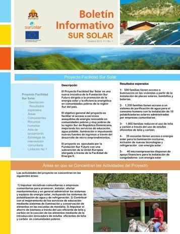 SUR SOLAR - Fundacion Sur Futuro, Inc.