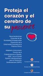 Proteja el corazón y cerebro de su paciente - SEH-Lelha