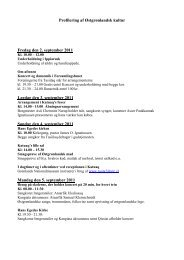 Profilering af Østgrønlandsk kultur Fredag den 2 ... - Sermitsiaq