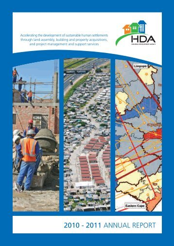 HDA Annual Report 2010-2011 - Housing Development Agency