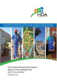 The HDA is into its second year of operation and this is its third ...