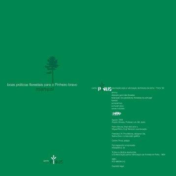 Manual das boas práticas florestais para o Pinheiro ... - Centro Pinus