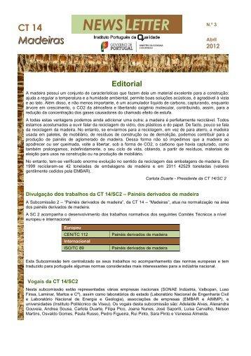 Newsletter nº 3_CT14_201204 - Centro Pinus