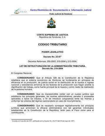 codigo tributario (actualizada-07) - Poder Judicial