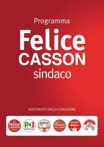 Programma-Felice-Casson-Sindaco
