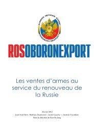 Les ventes d'armes au service du - Base de connaissance AEGE