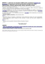 ORDIN nr. 1342 din 15 octombrie 2009 pentru - Administratia ...
