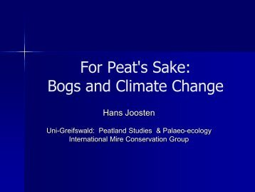 View PDF of slides - Climate Change