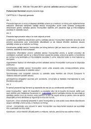 LEGE nr. 104 din 15 iunie 2011 privind calitatea aerului înconjurător