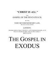 The Gospel in EXODUS - Grace-eBooks.com