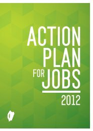 Action Plan for Jobs - Cork Chamber of Commerce