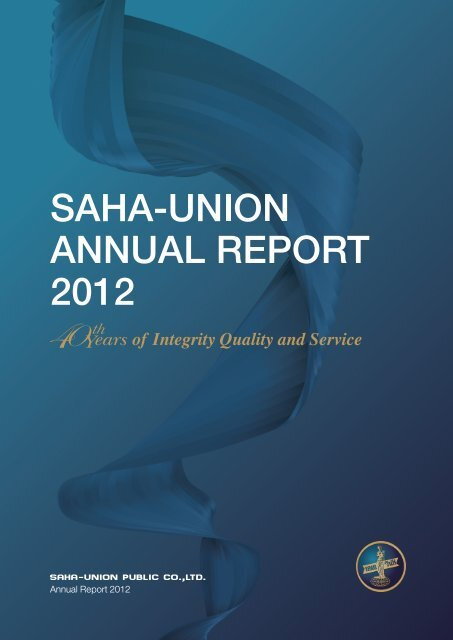 Consolidated financial statements - Saha-Union Co., Ltd