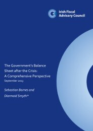 The Government's Balance Sheet after the Crisis: A Comprehensive ...