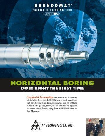 Grundomat Literature (PDF 5.7M) - TT Technologies Inc.