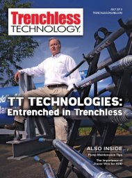 July 2013 - TrenchlessOnline