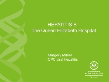 SA Health PowerPoint Template - Green - Hepatitis SA