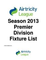 HZ Fixture List 10-0714