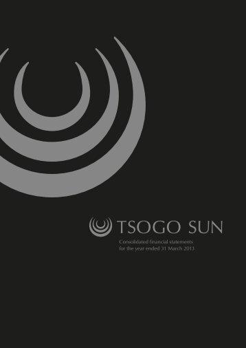 Tsogo Sun Annual Financial Statements