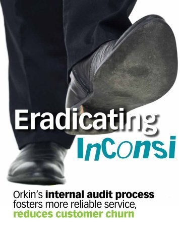 Orkin's internal audit process fosters more reliable service, reduces ...