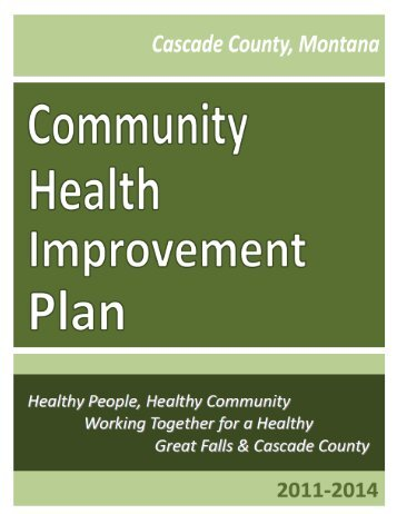 2011-2014 Cascade County Community Health Improvement Plan