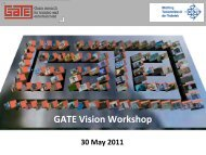 Opening - GATE | Game research for training and entertainment