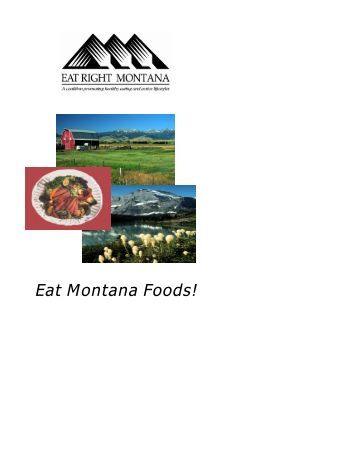 Eat Right Montana - Cascade City-County Health Department