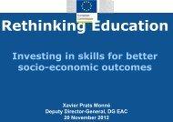 Rethinking Education - Europa