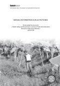 MANUEL DE FORMATION SUR LES PESTICIDES - Sustainlabour - Page 3