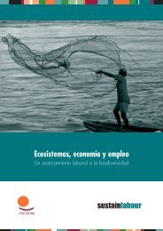 Ecosistemas, economía y empleo - Sustainlabour