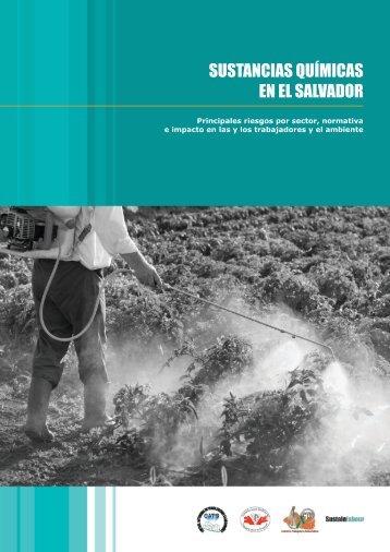 Sustancias químicas en El Salvador. Principales ... - Sustainlabour