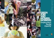Green Jobs and - Sustainlabour