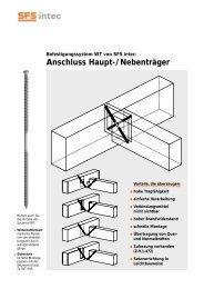 Anschluss Haupt-/Nebenträger - EPRO