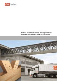 Produce multiple-shear steel-timber joints more easily and ... - EPRO