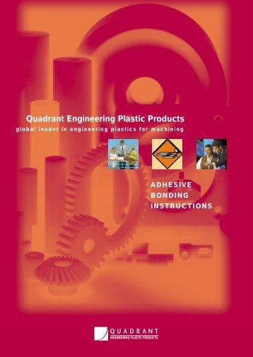 ADHESIVE BONDING INSTRUCTIONS - Quadrant