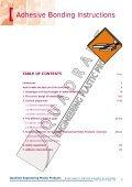 ADHESIVE BONDING INSTRUCTIONS - Quadrant - Page 2