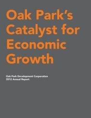 View OPDC's 2012 Annual Report (PDF) - Oak Park Development ...