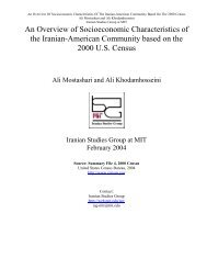 Add'l Patents Pending - Iranian Studies Group at MIT