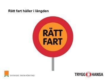 Rätt fart håller i längden - Trafiksaker.se