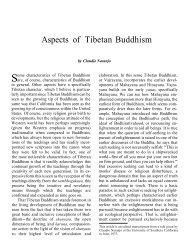 Aspects Of Tibetan Buddhism – Claudio Naranjo On The