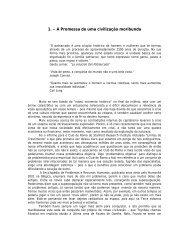 A Promessa de uma Civilazação Moribunda - Claudio Naranjo
