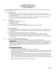 ESGS 8U Rules sup 2006.pdf - El Segundo Girls Softball