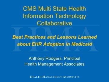 CMS Multi State Health Information Technology ... - Blsmeetings.net